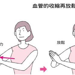 《一分鐘降血壓操》先收縮、再放鬆~血流從堵住到順暢