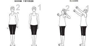 放鬆身心的「殭屍體操-不要不要運動」,矯正胃弱姿勢「朝上划船體操」